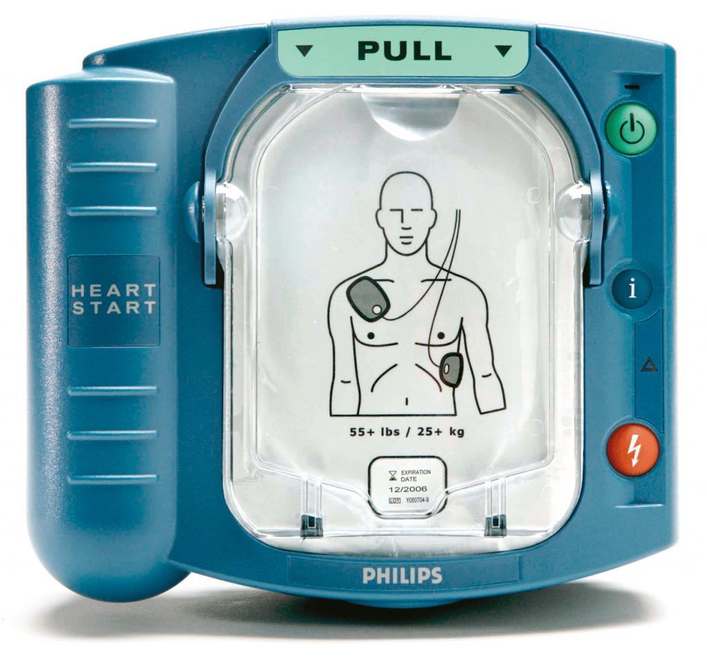 Défibrillateur Philips HS1