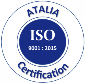Logo norme ISO 9001 Atalia Certification