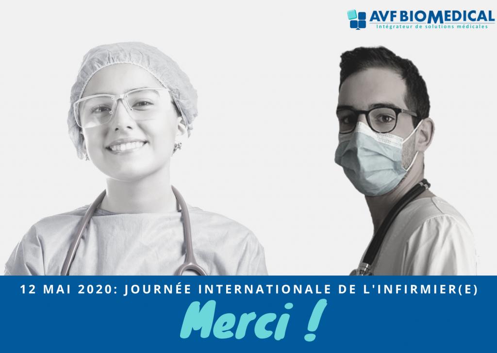 Journée Internationale de l'infirmière 2020