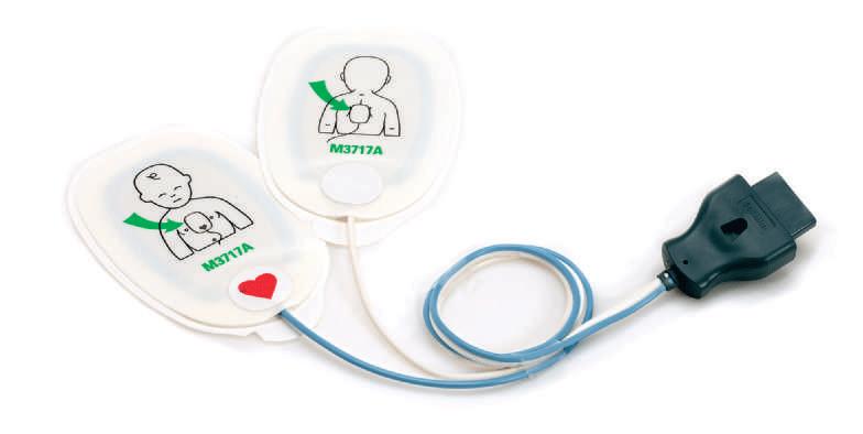 Electrodes externes multifonctions pédiatriques (réf.M3717A)